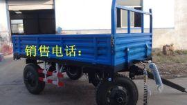 农用拖车价格,一力机械液压自卸拖拉机 拖斗