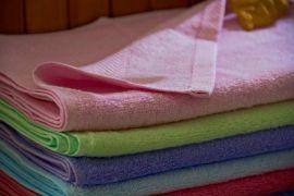 竹纤维小方巾