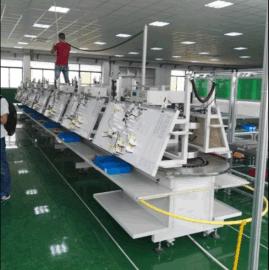 空调线束装配线 线束装配流水线 线束生产线设备厂家 结构轻巧 操作简单 效率高 成本低