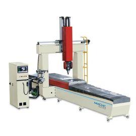青岛厂家供应明美铝型材五轴数控加工中心支持定制