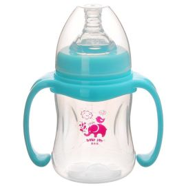 180ml宽口径PP塑料奶瓶,婴儿奶瓶厂家现货批发,6oz奶瓶,PP奶瓶