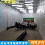 伸縮式噴漆房移動伸縮房環保伸縮噴漆房大型設備噴漆鋼結構噴漆房