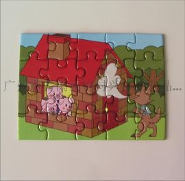 儿童拼图 益智玩具 纸质平面拼图 纸板拼图