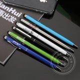 訂製LOGO金屬電容筆 圓珠筆油筆 定製筆廠