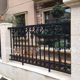 铝艺护栏铝合金围栏**别墅护栏庭院围墙铝栅栏欧式铝艺护栏栏杆