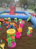 小型兒童決明子充氣沙池玩具套裝出售