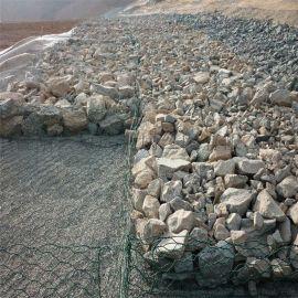 广西镀锌石笼网包塑格宾网生态格宾网箱