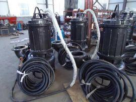 重工耐磨排污泵潜水排污泵售后完善