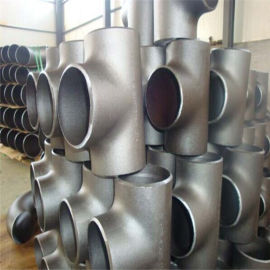 不锈钢DN100高压对焊三通鑫涌加工厂家