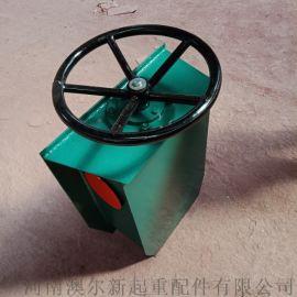 高600mm方向盘式夹轨器  行车简易防风装置
