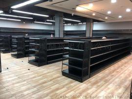 南通超市货架,南通钢木超市货架,南通双面超市货架