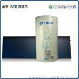 壁挂太阳能蓝膜平板壁挂太阳能热水器厂家