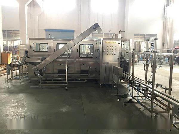 桶装纯净水生产线 小型大桶水生产设备 (450桶)大桶纯净水加工设备
