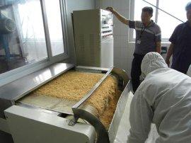 面包糠微波干燥杀菌机 食品微波干燥杀菌设备