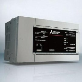 三菱PLC FX5U-80MT/ESS   AC电源 内置40入/40晶体管源型输出