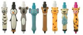 造型圆珠笔 动笔 可爱卡通圆珠笔 动物仿真笔 动物礼品笔