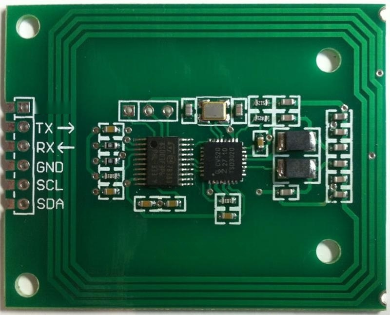 rfid讀卡模組RC522串口讀寫器