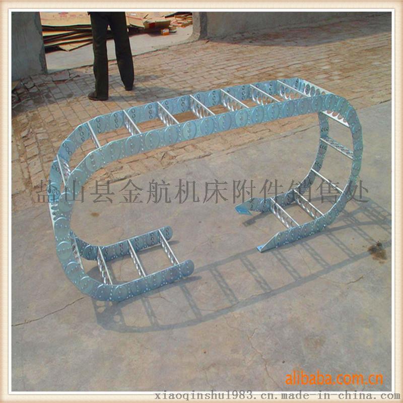 厂家订制工程钢铝拖链 机床钢制拖链 机床电缆拖链