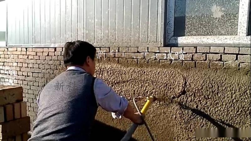 专业的喷砂灰机器德式喷涂机更快的施工
