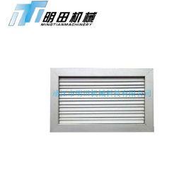专业生产风口 防水防雨百叶风口 自垂式铝合金百叶风口