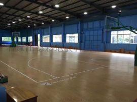 山西篮球场塑胶地板橡木纹PVC地胶