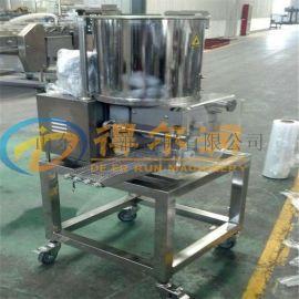 嗨汉堡肉饼成型油炸生产线 D8肉饼成型油炸全套设备