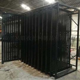 福州冲孔板瓷砖展架800*800瓷砖样品展示架