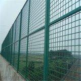 生产桥梁防抛网浸塑防坠物护栏网绿色铁丝网