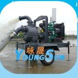 防汛排涝 6寸 300立方柴油水泵 防汛移动泵车 无堵塞自吸排污泵
