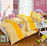山东棉花被芯被套三件套全棉儿童幼儿园床上用品代理