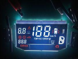 订制仪器仪表LCD液晶显示屏配套背光源,VA黑膜丝印红色控制板液晶屏