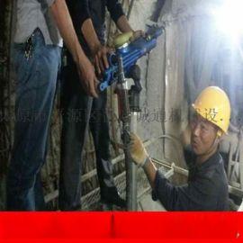 安徽安庆市100型潜孔钻机立柱式潜孔钻机水平打孔凿岩机