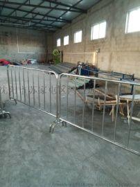 供应不锈钢铁马围栏活动铁马护栏厂家直销可定制