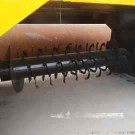 高产能履带翻堆机 鸡粪猪粪翻堆机 猪粪处理设备履带式翻堆机