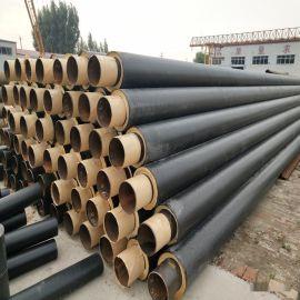 南京 鑫龙日升 城市供暖预制地埋高密度聚氨酯保温管道dn450/478预制聚氨酯发泡管