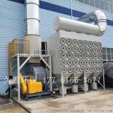 江蘇大風量斜插式濾筒除塵器工期3天