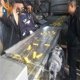 隧道式全自動吉利魚排上屑機 新生帶魚片上漿上糠機