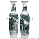 西安大花瓶厂家2米高落地大红花瓶