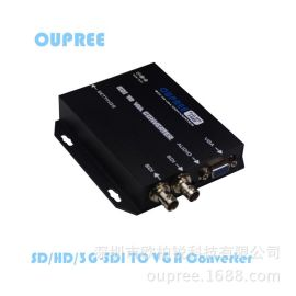 欧柏锐品牌OPR-SV502V 新款SDI转VGA/D-Sub转换器1080p