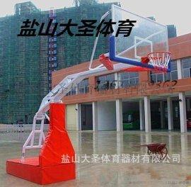 河北体育器材厂家批发移动液压篮球架DSL-04