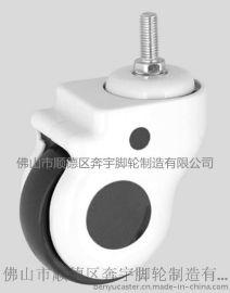**5寸静音螺纹万向轮医用推车医疗仪器脚轮转椅滚轮滑轮器械轮