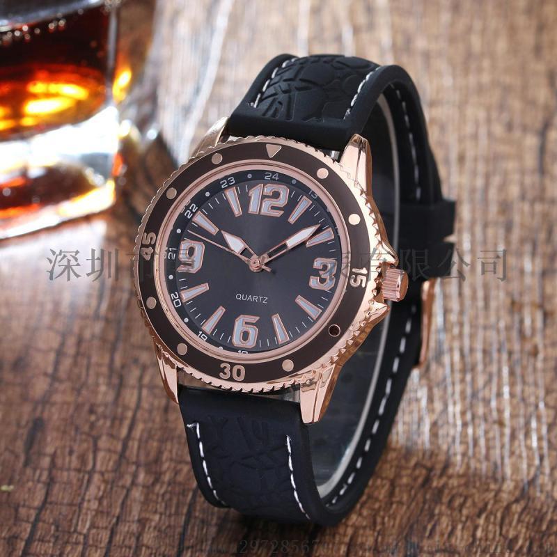 情侶手錶時尚戶外運動數位矽膠手錶石英手錶