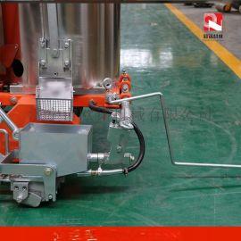 道路热熔划线机 手推式划线一体机 自走式热熔划线机