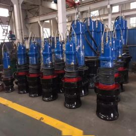 遵化潜水轴流泵 污水泵 泵站用轴流泵