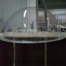 圣诞大号装饰球有机玻璃吊球塑料透明空心球