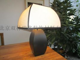 新中式布艺灯罩酒店台灯