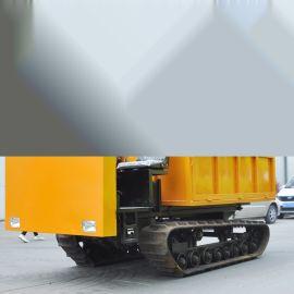 橡胶履带运输车 手扶式小型履带车 多功能运输车厂家