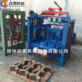 水库河堤护坡人字型植草砖机免烧砖机人字砖生产设备