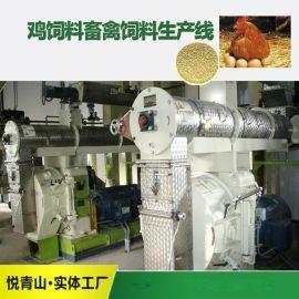 鸡饲料生产线猪饲料加工成套设备, 全自动饲料机