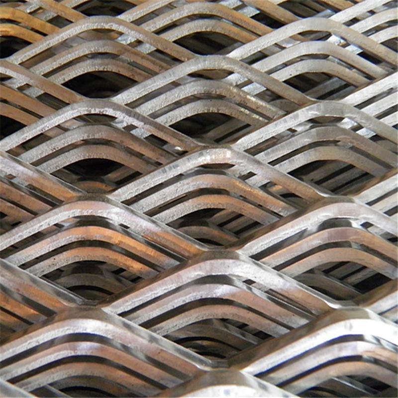 金属板网 菱形喷漆钢板网 镀锌钢板网
